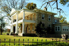 Viejo hogar histórico Foto de archivo
