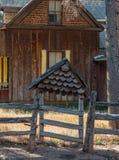 Viejo hogar maravilloso Fotografía de archivo libre de regalías