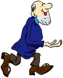 Viejo hombre Imagen de archivo libre de regalías