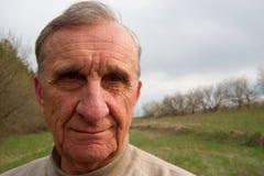 Viejo hombre Foto de archivo libre de regalías