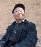 Viejo hombre de China Imagenes de archivo
