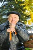 Viejo hombre de la alegría Imagen de archivo libre de regalías