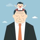 Viejo hombre de negocios libre illustration