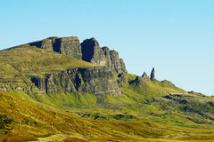 Viejo hombre de Storr, isla de Skye, Escocia Fotografía de archivo libre de regalías