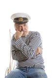 Viejo hombre del marinero Foto de archivo