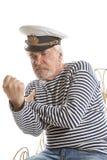 Viejo hombre del marinero Imágenes de archivo libres de regalías