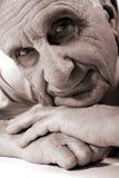 Viejo hombre feliz Imagenes de archivo