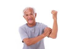 Viejo hombre fuerte Imagenes de archivo
