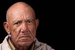 Viejo hombre gritador foto de archivo libre de regalías