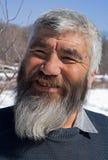 Viejo hombre mongoloide 17 Imagenes de archivo