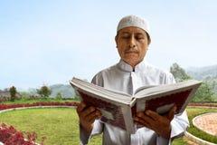 Viejo hombre musulmán Imagen de archivo libre de regalías