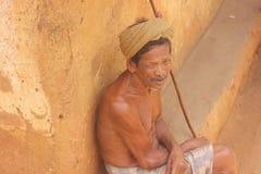 Viejo hombre - Sri Lanka imágenes de archivo libres de regalías