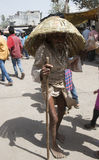Viejo hombre tribal Imagen de archivo libre de regalías
