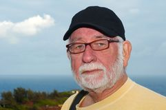 Viejo hombre y mar Fotos de archivo
