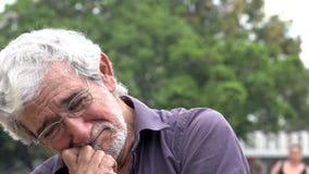 Viejo hombre y tensión metrajes