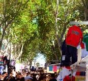 Viejo huya del mercado de Madrid imagen de archivo libre de regalías
