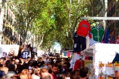 Viejo huya del mercado de Madrid fotos de archivo libres de regalías