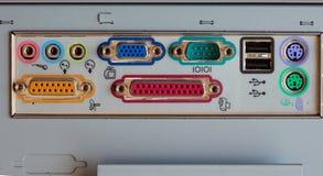 Viejo interfaz del ordenador Imágenes de archivo libres de regalías