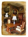 Viejo interior Imágenes de archivo libres de regalías