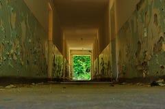 Viejo interior abandonado 2 de la casa Fotografía de archivo