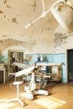 Viejo interior abandonado del hospital Fotografía de archivo libre de regalías