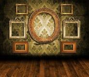 Viejo interior labrado Imagen de archivo