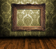 Viejo interior labrado Fotografía de archivo libre de regalías