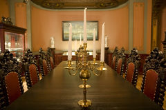 Viejo interior lujoso Imágenes de archivo libres de regalías