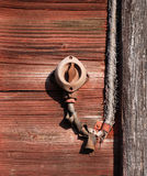 Viejo interruptor Foto de archivo libre de regalías