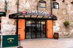 Viejo Jameson Distillery, Dublín fotografía de archivo