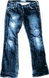 Viejo Jean. Fotografía de archivo libre de regalías