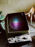 Viejo juego de ordenador Foto de archivo