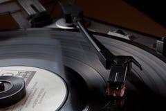 Viejo jugador de disco de vinilo Fotos de archivo libres de regalías