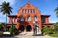 Viejo la oficina de correos y aduanas, Key West Fotos de archivo