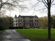 Viejo landhouse holandés Imagen de archivo libre de regalías