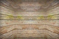 Los paneles de madera del Grunge usados como fondo Foto de archivo