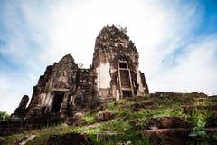 Viejo lugar en Tailandia Fotografía de archivo