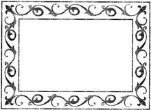 Viejo marco imagenes de archivo