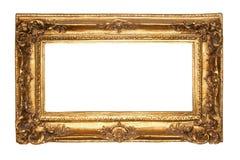 Viejo marco antiguo del oro Fotos de archivo libres de regalías