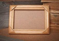 Viejo marco de la foto Fotos de archivo