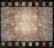 Viejo marco de la negativa de película - fondo de Grunge Fotos de archivo