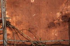 Viejo marco de la pared Foto de archivo