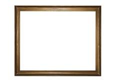 Viejo marco de madera Fotografía de archivo libre de regalías
