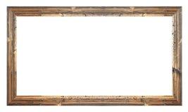 Viejo marco de madera Imágenes de archivo libres de regalías