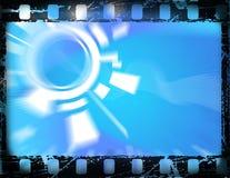 Viejo marco de película ilustración del vector