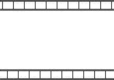 Viejo marco de película Foto de archivo libre de regalías
