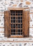 Viejo marco de ventana Imagen de archivo