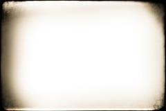 Viejo marco del Grunge de la foto Fotografía de archivo libre de regalías
