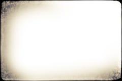 Viejo marco del Grunge de la foto Imagenes de archivo
