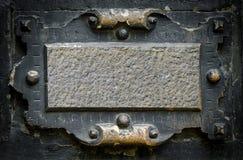 Viejo marco gótico Imágenes de archivo libres de regalías